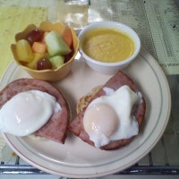 Ham and/or Spinach Benedict